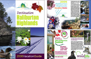 Haliburton Highlands Destination Guide 2006