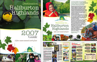 Haliburton Highlands Destination Guide 2007