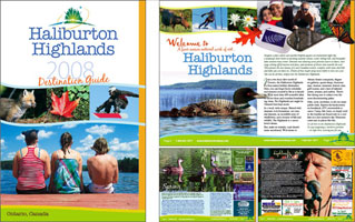 Haliburton Highlands Destination Guide 2008