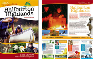Haliburton Highlands Destination Guide 2009