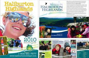 Haliburton Highlands Destination Guide 2010
