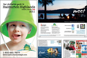 Haliburton Highlands Destination Guide 2011